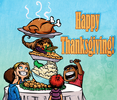 Happy Thanksgiving From Us here at Vaught Orthodontics in Savannah GA