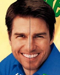 Midline Discrepency Tom Cruise