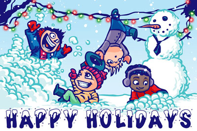 Happy Holidays at Honig orthodontics in Newark DE